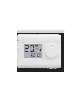 Thermostat d'ambiance digital, fil pilote 6 ordres